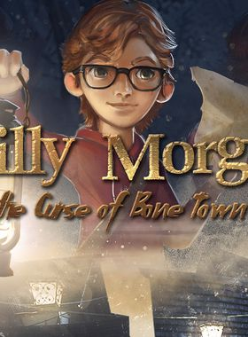 Willy Morgan and the Curse of Bone Town Key Art