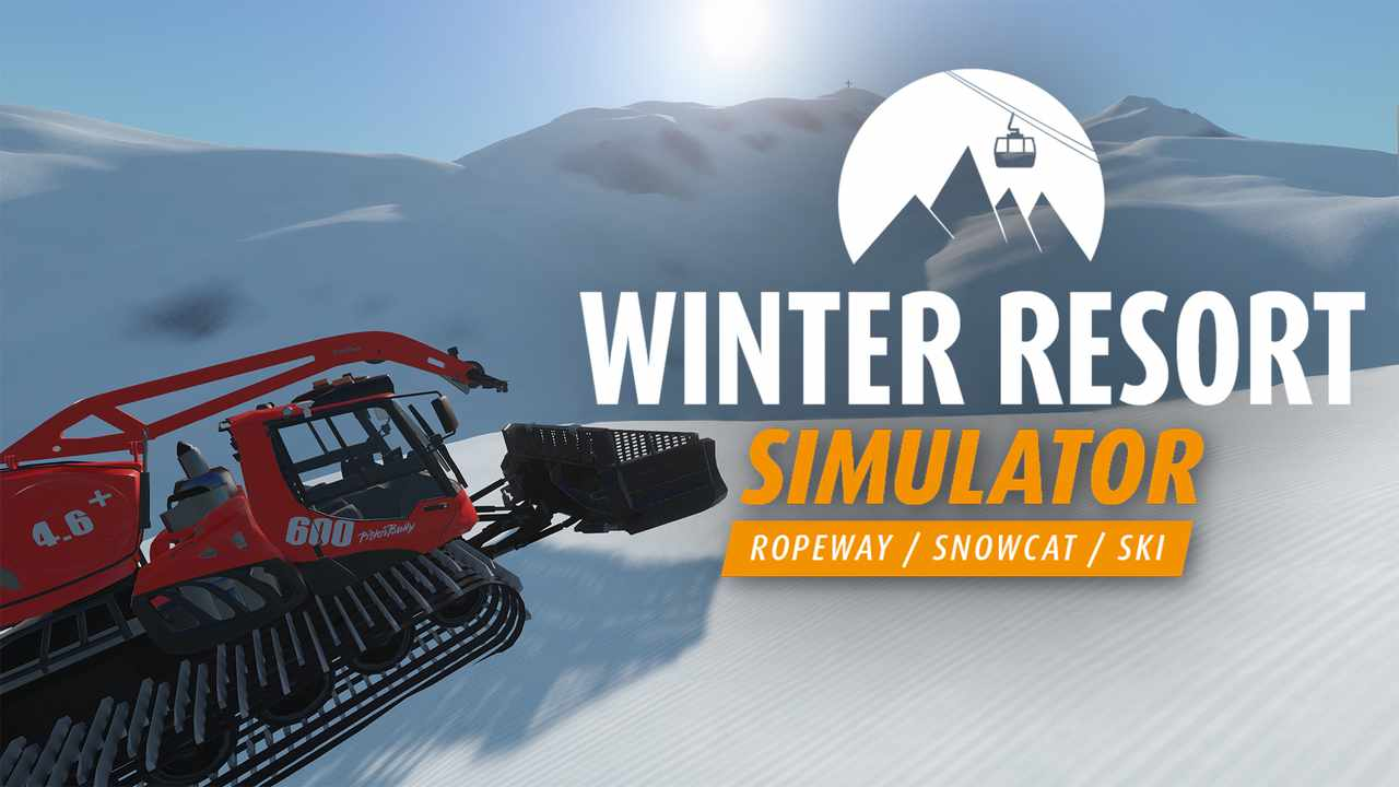 Winter Resort Simulator Key Art