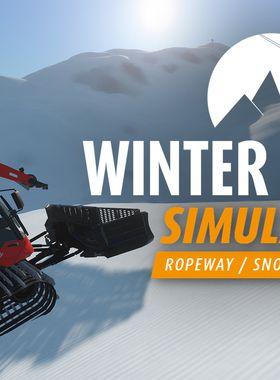 Winter Resort Simulator Key Art