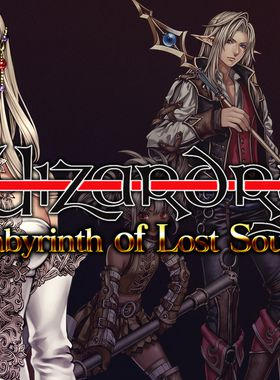 Wizardry: Labyrinth of Lost Souls Key Art