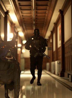 Wolfenstein 2: The Diaries Of Agent Silent Death Key Art