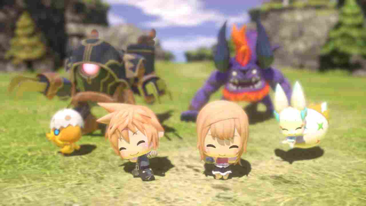 World of Final Fantasy Background Image