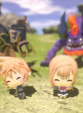 World of Final Fantasy Key Art