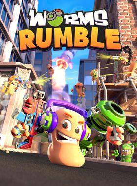 Worms Rumble Key Art