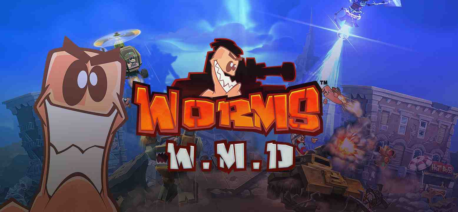 Worms W.M.D Background Image