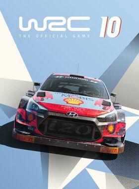 WRC 10 FIA World Rally Championship Key Art