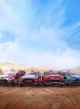WRC 8 FIA World Rally Championship Key Art