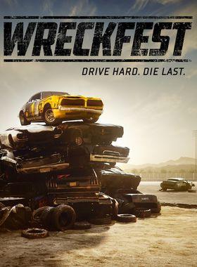 Wreckfest Key Art