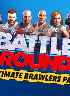 WWE 2K Battlegrounds - Ultimate Brawlers Pass Key Art