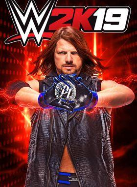 WWE 2K19 Key Art