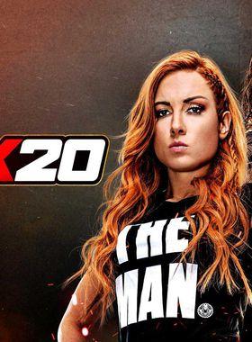 WWE 2K20 Key Art