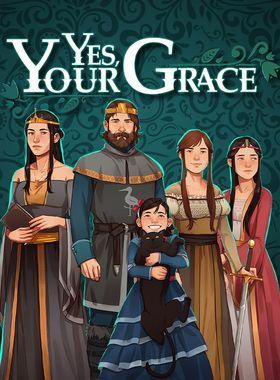 Yes, Your Grace Key Art