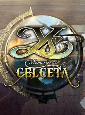Ys: Memories of Celceta Key Art
