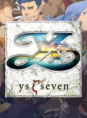 Ys Seven Key Art