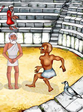 Zeus Quest Remastered Key Art