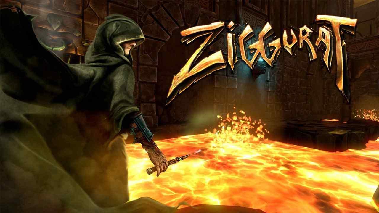 Ziggurat Background Image