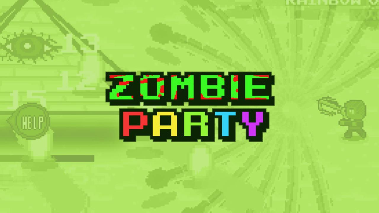 Zombie Party Background Image