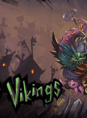 Zombie Vikings Key Art
