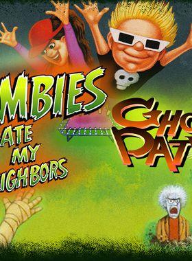 Zombies Ate My Neighbors and Ghoul Patrol Key Art